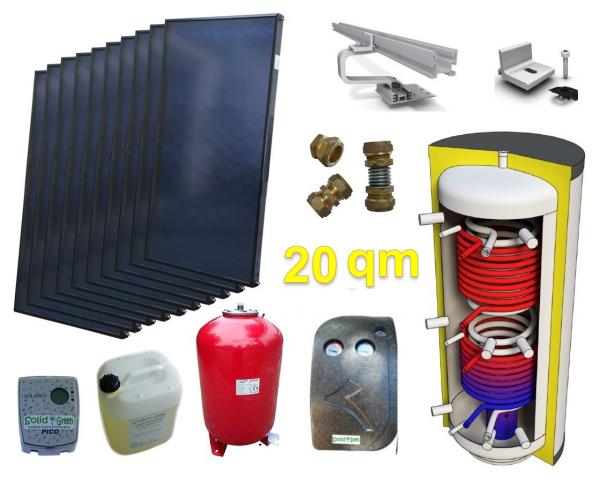 m nchen solar solaranlage f r heizung und warmwasser. Black Bedroom Furniture Sets. Home Design Ideas